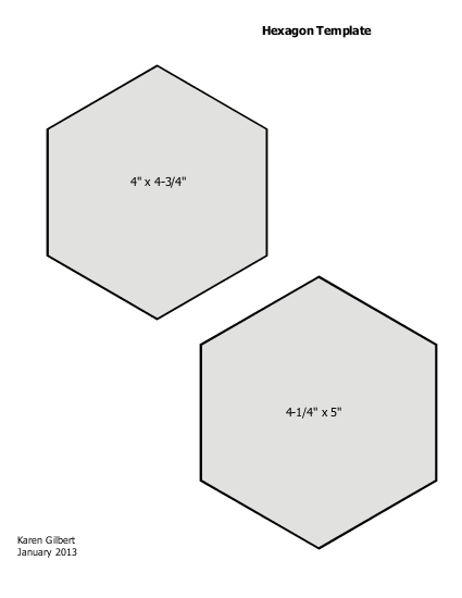 Hexagon Template