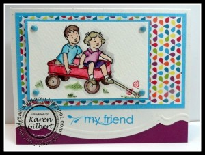 Friendship Sared Stamp