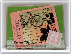Stampin Up Keeps Up With Trends
