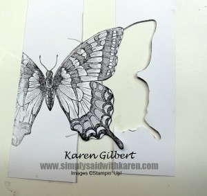 Using your die cuts