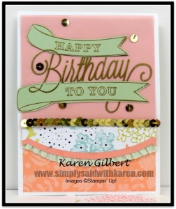 Handmade Birthday Cards Celebrate Another Great Year www.simplysaidwithkaren.com