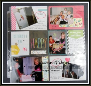 Project Life Makes Scrapbooking Easy Peasy  www.simplysaidwithkaren.com