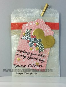 Wedding Card in a Bag