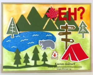 Perfect Canada Day Card