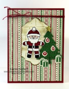 Cookie Cutter Santa Card