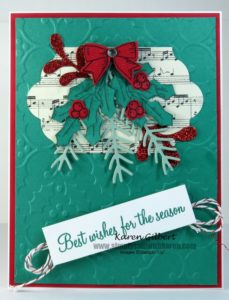 Create handmade Christmas Cards
