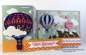 Hot Air Balloon Birthday Cards