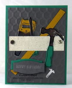 Fixit Tools Birthday Card