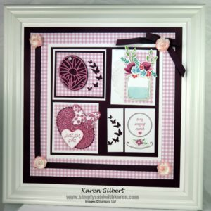 Mothers Day framed collage