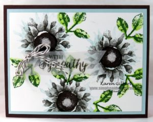 beautiful handmade sympathy card