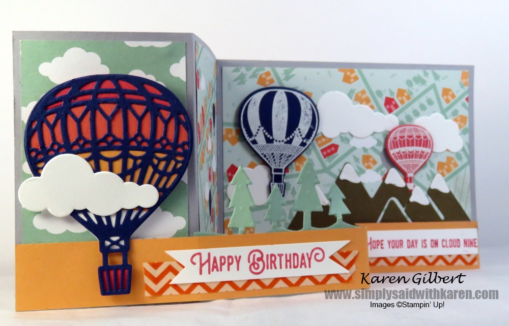 Beautiful Hot Air Balloon Birthday Cards Create Your Own