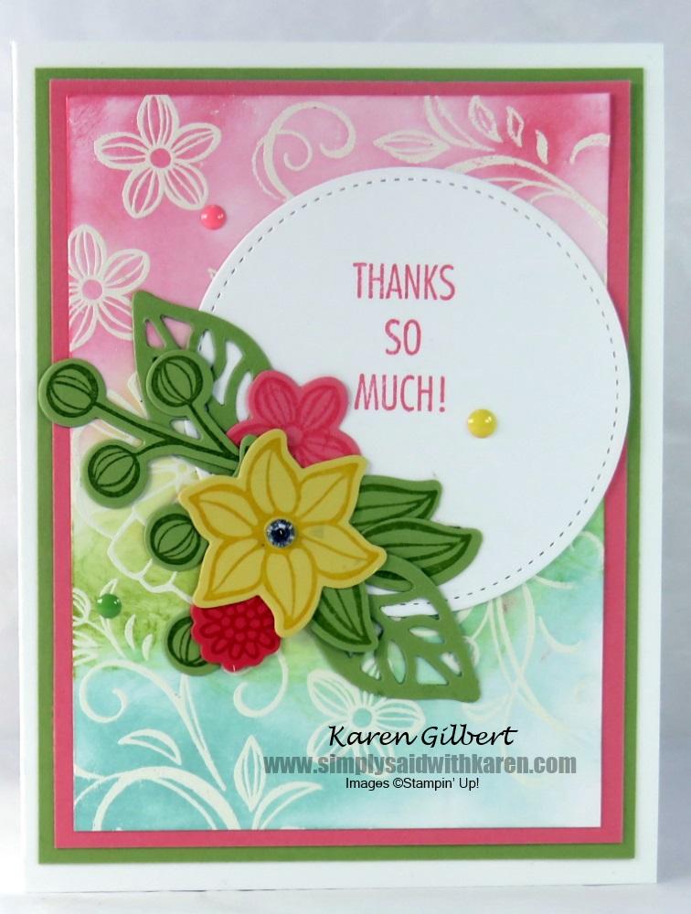 send thank you handmade cards to someone you appreciate